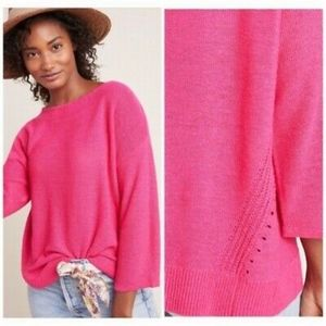 NWT Anthropologie Mayfield Knit Pullover Sweater